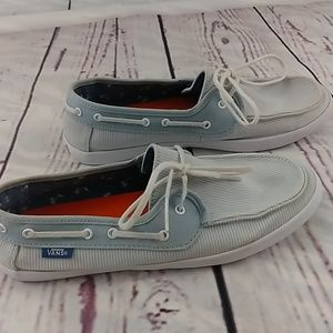 Women's Vans size 8 boat shoes